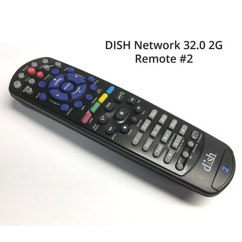 Image of Original Dish Network 32.0 UHF 2G Remote Control 165540