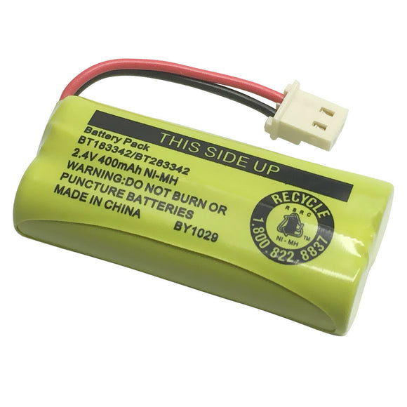 Original Vtech BT183342/BT283342 Battery Pack 2.4V 400mAh for AT&T Cordless Phone