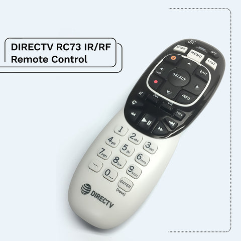 Directv RF/IR Genie RC71 RC72 RC73 Remote Control for HR44 Receiver