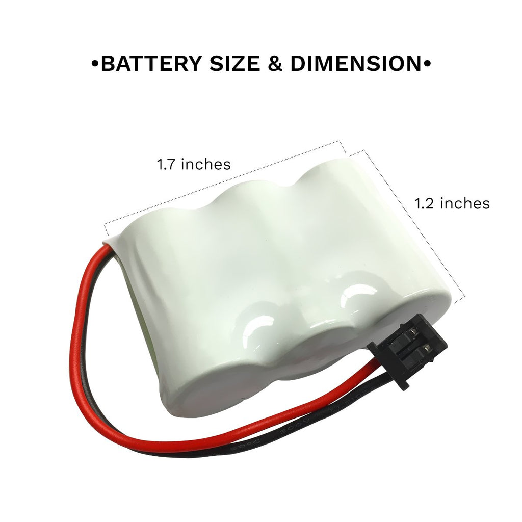 GE 2-9632A Battery