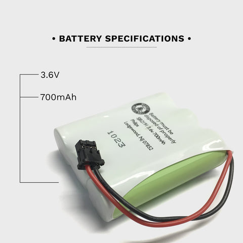 Image of Uniden CP355 Battery