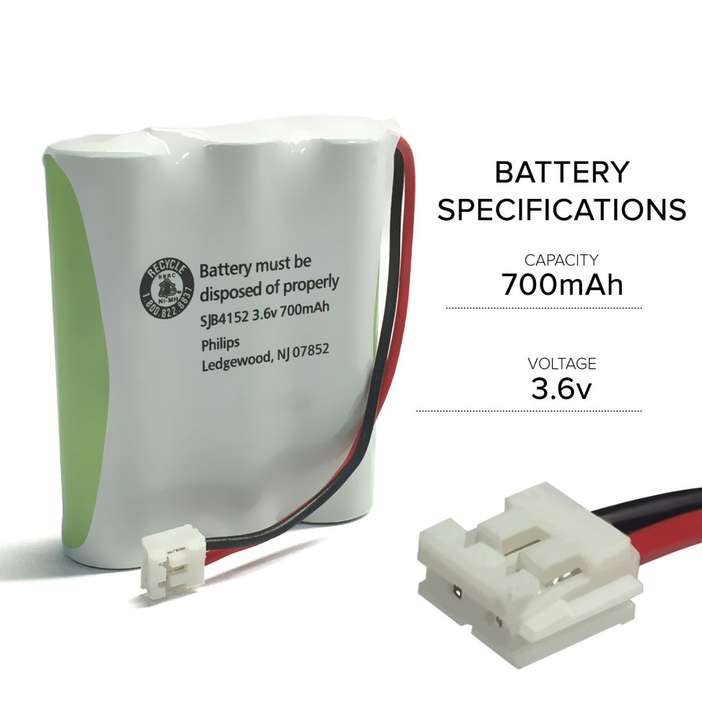 GE 2-6930 Battery