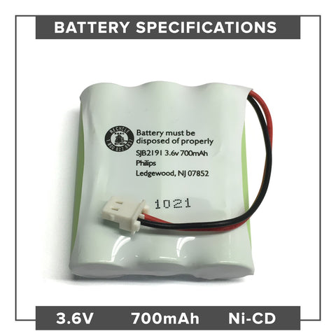 Image of GE 2-9665 Battery