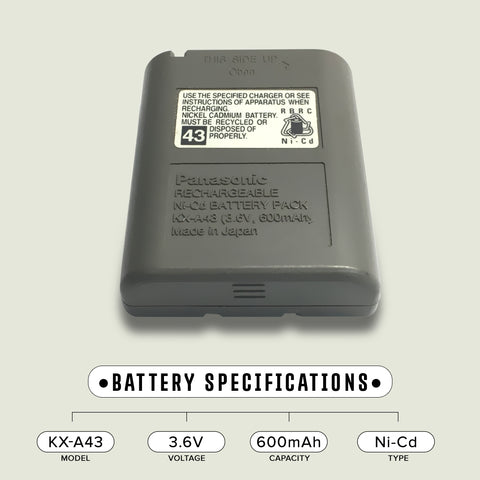 Again & Again STB943 Battery
