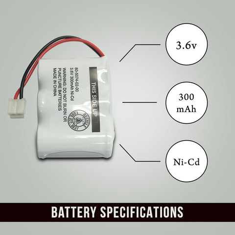 Image of GE 2-6616 Battery