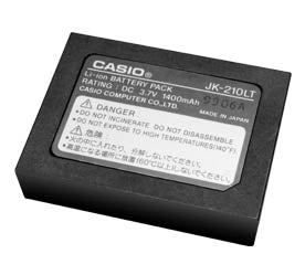 Genuine Casio JK-210LT Battery