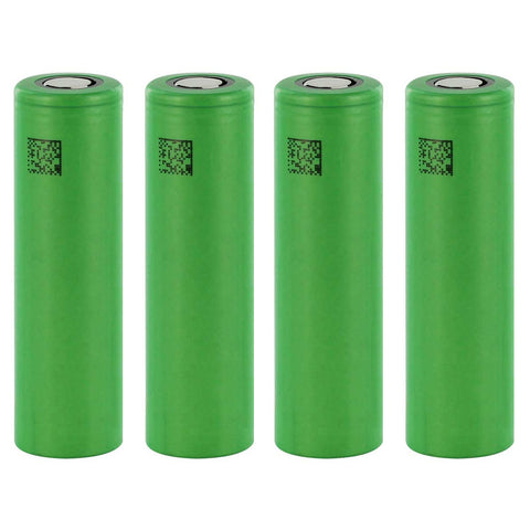 4-Pack Sony VTC5 Battery US18650VTC5 3.7V 2600mAh 30A 18650