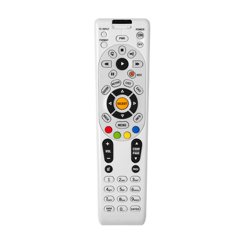 Lextron 14611MHD  Replacement TV Remote Control