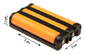 Image of Uniden CTX440 Battery