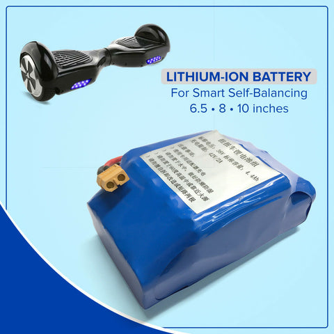 Image of 36 Volt 4.4AH Replacement Lithium-Ion Battery for Hoverboard Self-Balance 36V 42V - 40 Volt Electric Scooter