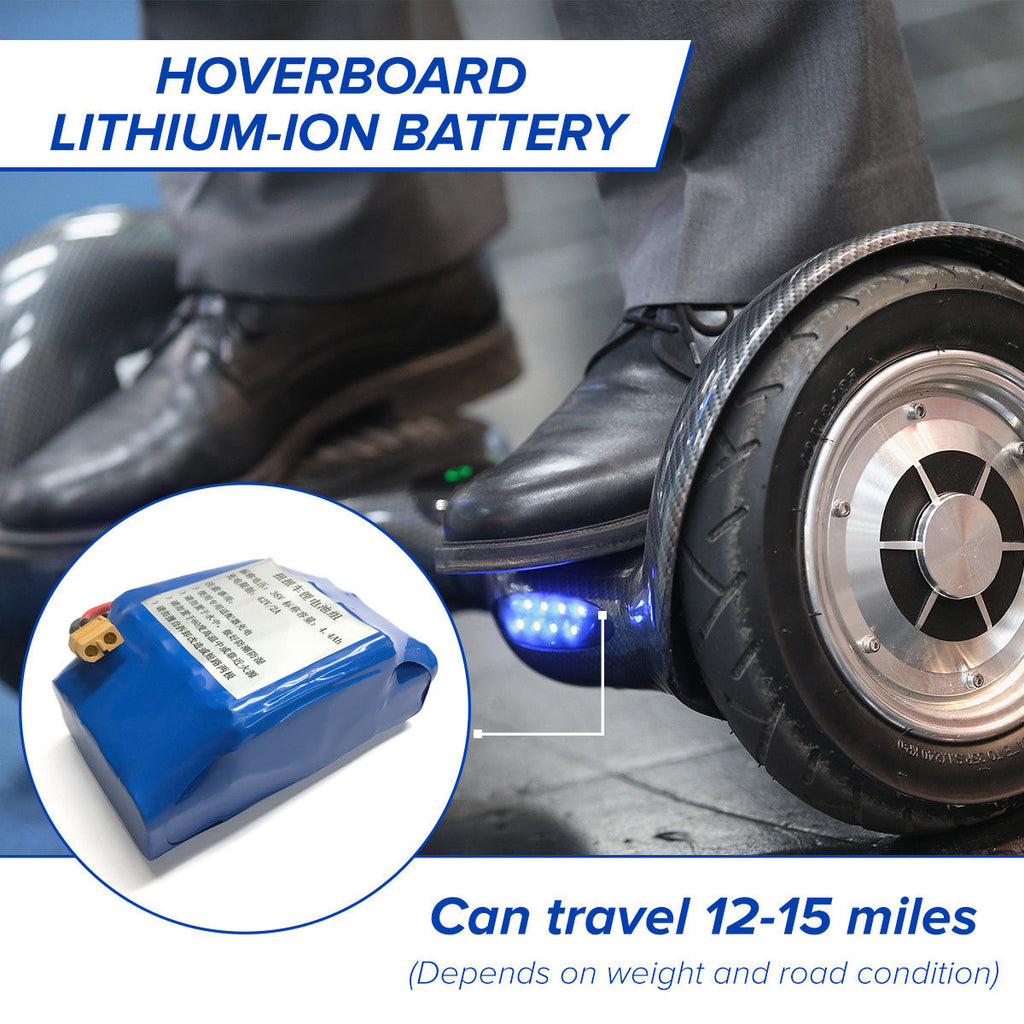 36 Volt 4.4AH Replacement Lithium-Ion Battery for Hoverboard Self-Balance 36V 42V - 40 Volt Electric Scooter