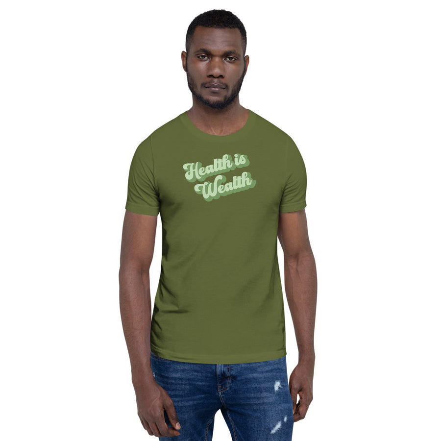 Health is Wealth Premium Unisex T-Shirt