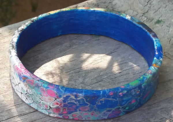 Abstract Art 3d Printed Bracelet