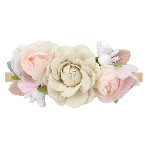 """Karlie -Anne range' - Flower Headband"
