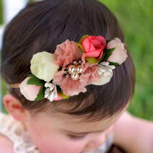 Willow range - Floral Headband