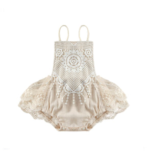 Dianna   - lace Romper Playsuit