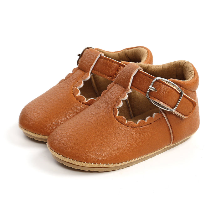 Maree- T bar first walker Shoes