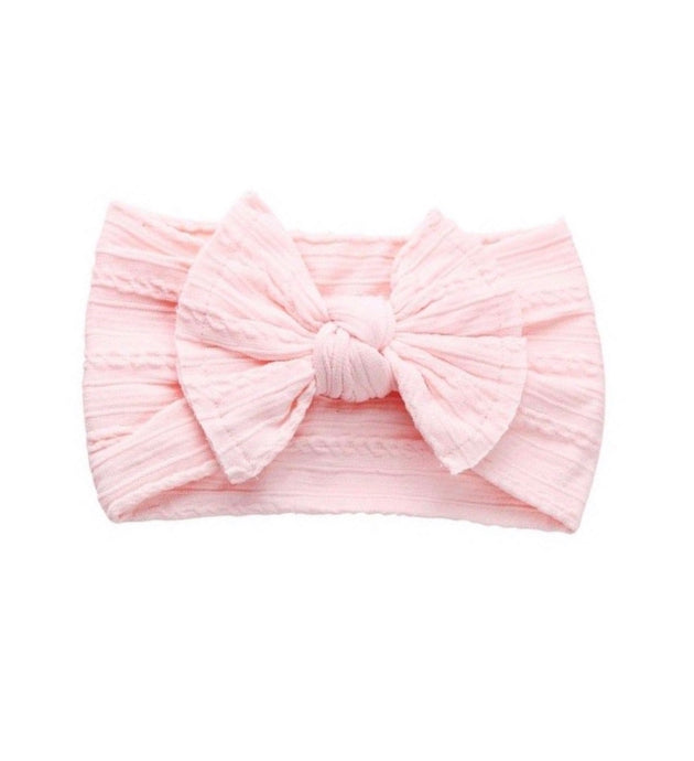 Chloe Pattered stretch bow Headband