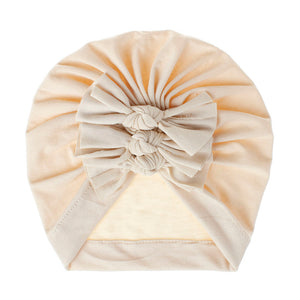 Knot stretch baby headband wrap