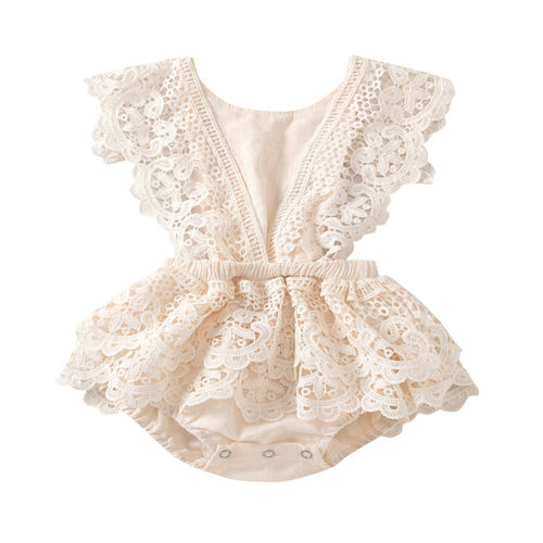 Avalie - Vintage Lace Playsuit