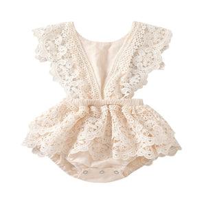 SALE- Avalie - Vintage Lace Playsuit
