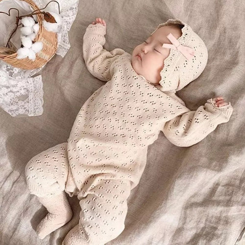 Marli- 2 pce knit set 100% organic cotton