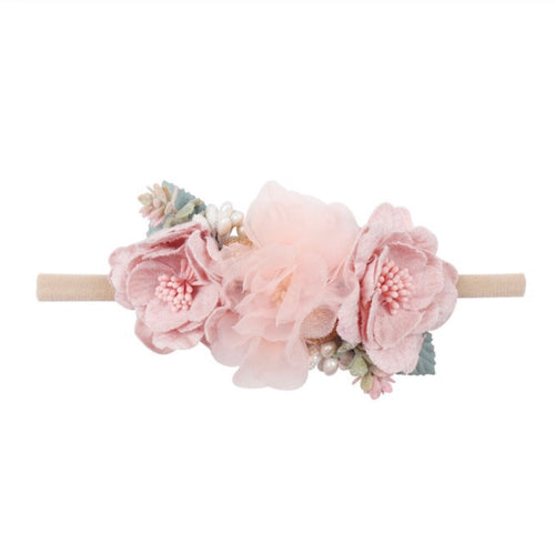 Paris  - floral Headband