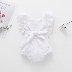 "'Arabella-Jane""-  Cotton embroidered playsuit"