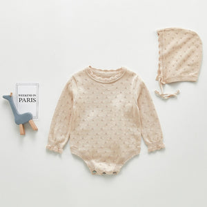 Tomi- 100% cotton knit Playsuit Set