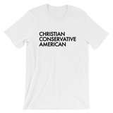 Christian Conservative American T-Shirt