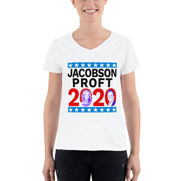 Jacobson / Proft 2020 White T-Shirt (Women's)