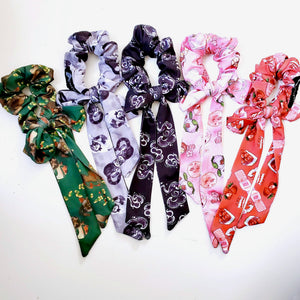 2-in-1 LARGE BOW SCRUNCHIE