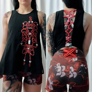 open back tank – endless knot