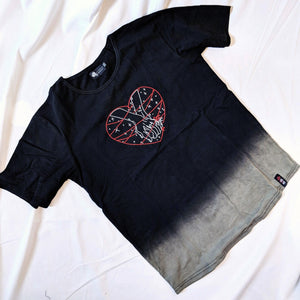 RED THREAD HEART T-SHIRT