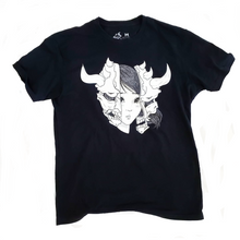 SPLIT ONI GIRL T-SHIRT
