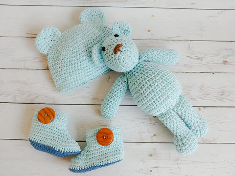 SET NEWBORN BLUE