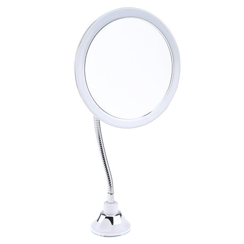 10X Magnifying Vanity Makeup Mirror, 360 Degree Swivel Rotation with Locking Suction