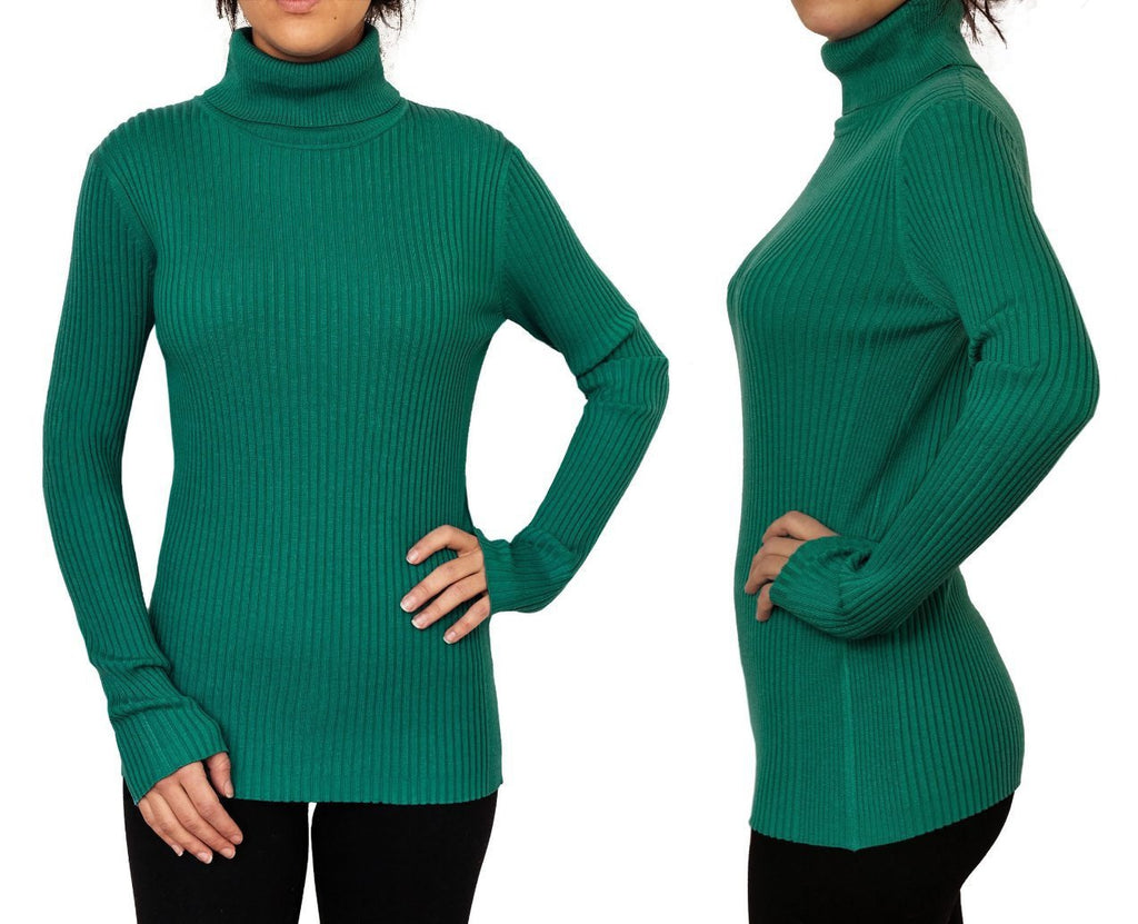 Winter Skinny Soft Autumn Pullover Turtleneck Sweater