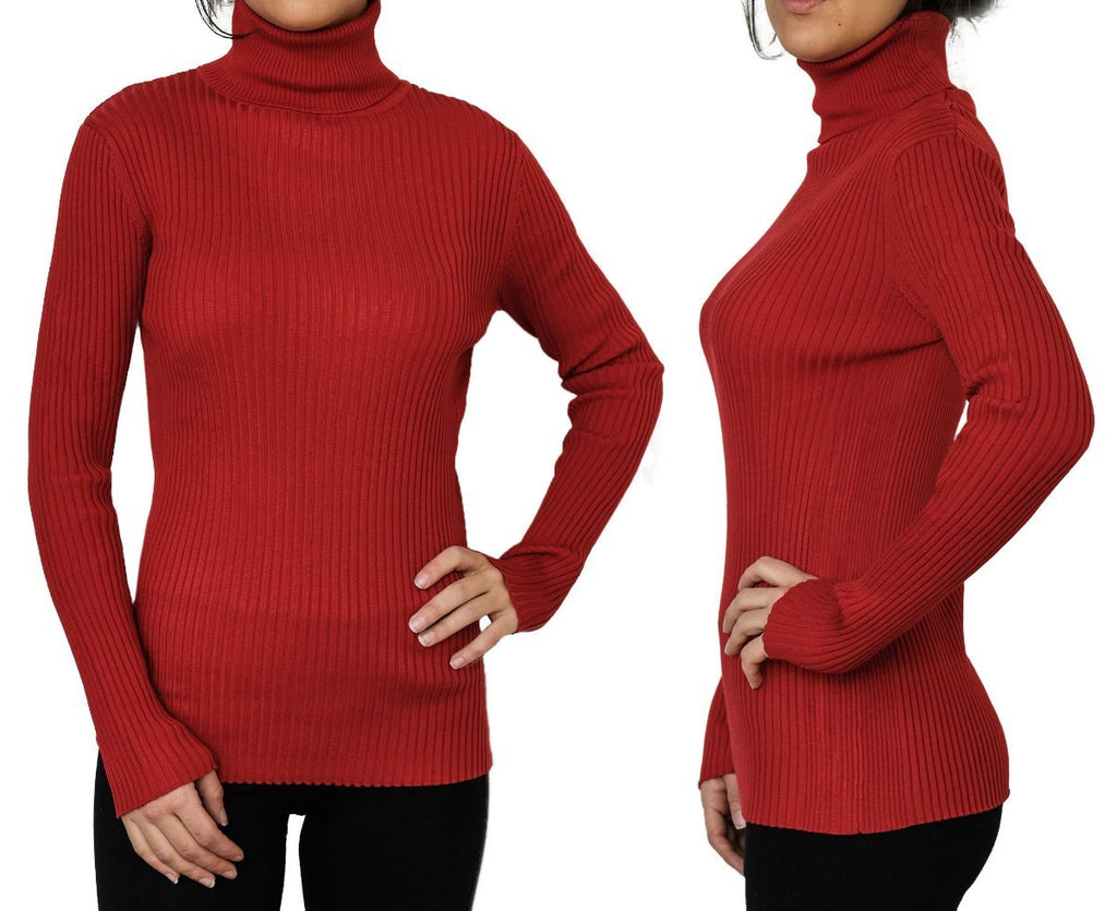 New Winter Skinny Soft Autumn Pullover Turtleneck Sweater