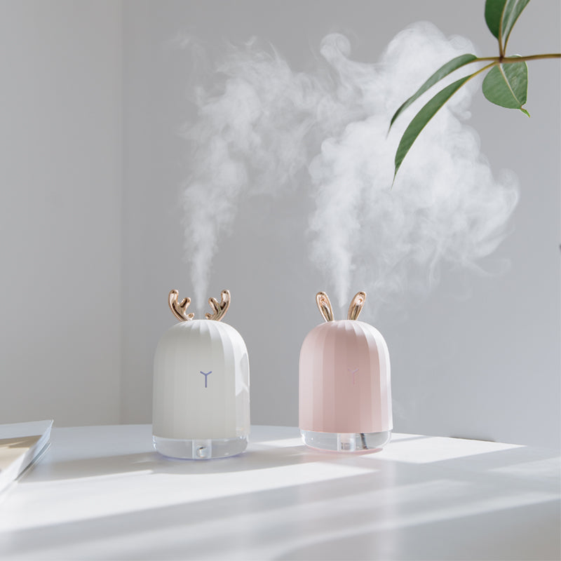 Amazing Ultrasonic Air Humidifier (White Color)