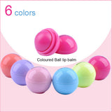 6 Colors Ball Lip Balm Lipstick Lip Protector Sweet Taste Embellish Lip Ball Makeup Lipstick Gloss Cosmetic Accessories