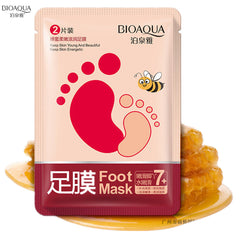BIOAQUA Skin Care Feet Honey feet moisturizing membrane peeling Foot Mask