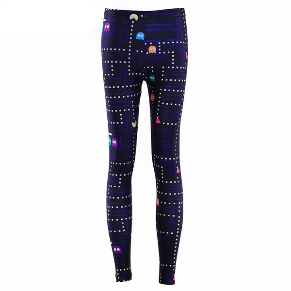 PAC-MAN PRINTED LEGGINGS