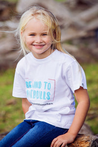 Kids T-shirt - Be Kind To Pitbulls