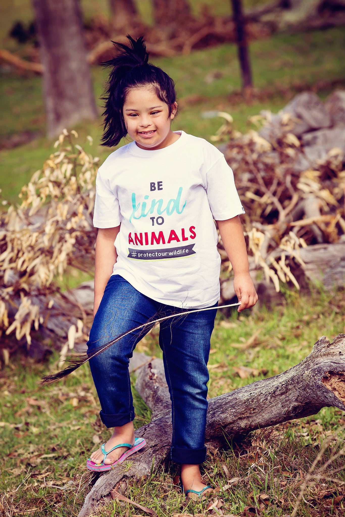 Kids T-shirt - Be Kind To Animals