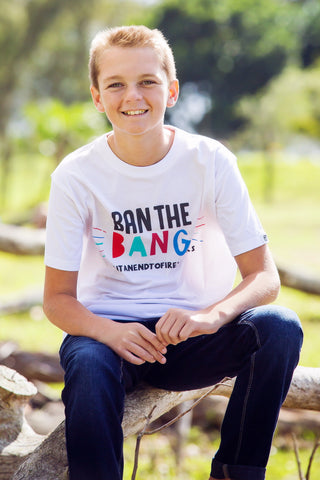 Kids T-shirt - Ban The Bang