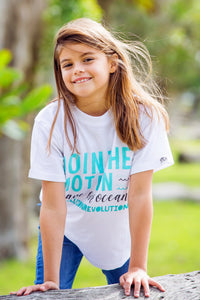 Kids T-shirt - Join The Motion & Save Our Ocean
