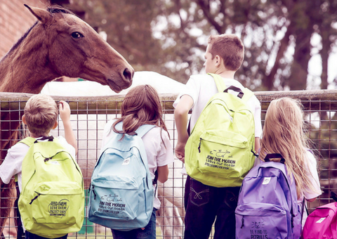 Backpack - Feed Them, Love Them, Protect Them