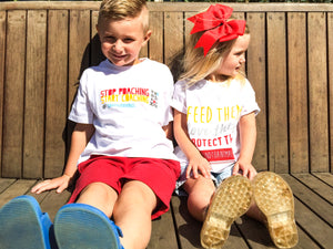Kids T-shirt - Stop Poaching & Start Coaching