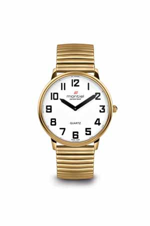 Montiel Extra Large Low Vision Watch with Flex Band